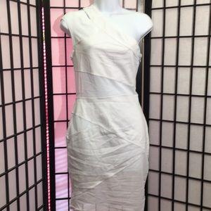 Dreamgirl Dress Size M Zipper & mesh